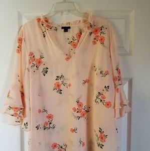 Floral Ann Taylor blouse